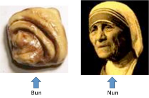 nun on bun